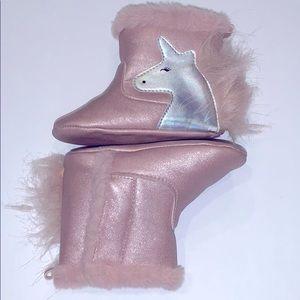 134 Girl Unicorn Boot